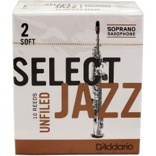 Rörblad Jazz select Sopransaxofon  2M Unfiled
