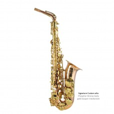 Altsaxofon T. James Sign. Custom Phophorbronze